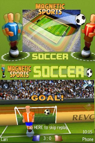 Magnetic Sports Soccer Lite - screenshot