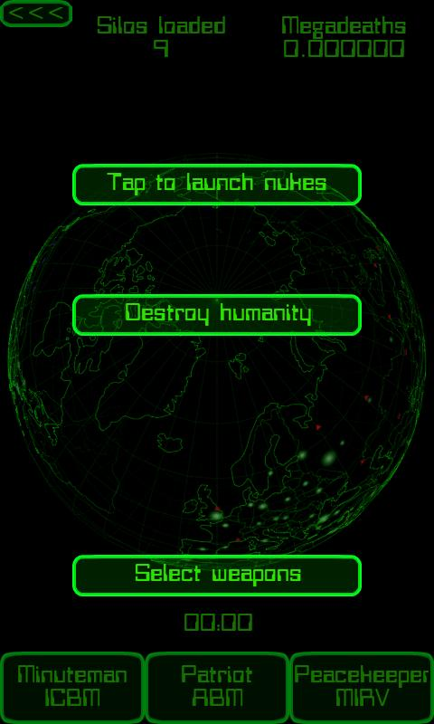 Nuke Commander Lite - screenshot