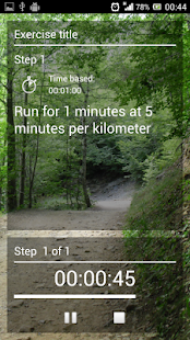 MyFartlek- screenshot thumbnail