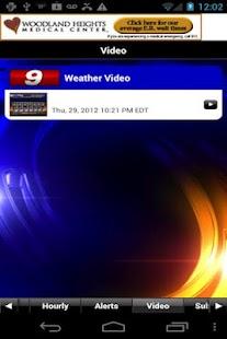 KTRE 9 StormTracker Weather - screenshot thumbnail