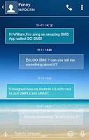 Screenshot of (FREE)OCEAN SMS & LOCKER THEME
