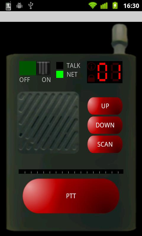 Virtual Walkie Talkie- screenshot