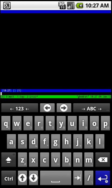 SSH for AnySoftKeyboard - screenshot