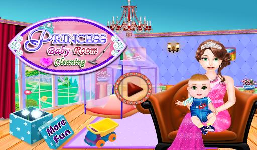 嬰兒房的公主遊戲