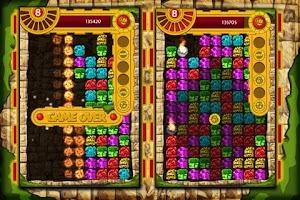 Screenshot of Maya Ruby Match Gold Blitz