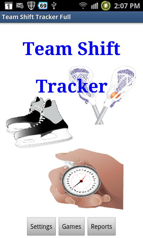 Team Shift Tracker- screenshot
