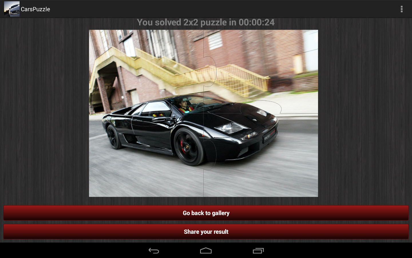 cars jigsaw puzzles free android apps on google play