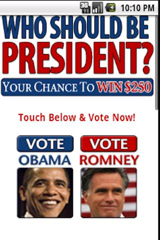 Presidential Election 2012 - screenshot