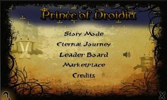 Screenshot of Prince of Droidia
