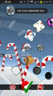 TSF Shell CrazyChristmas Theme - screenshot thumbnail