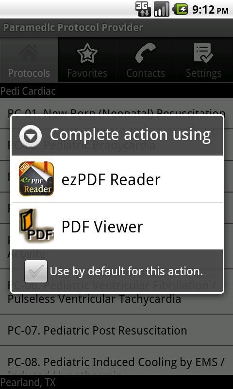 Paramedic Protocol Provider- screenshot