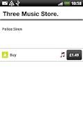 Screenshot of Three Music