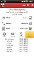 Screenshot of EatPL - Restaurants in Poland