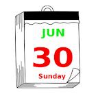 计算日历 icon