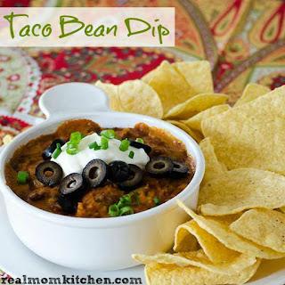 Taco Bean Dip