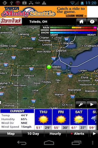 StormTrack Weather for Toledo - screenshot