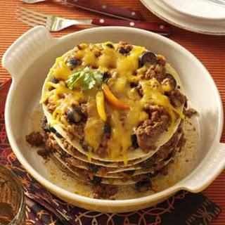 Layered Tortilla Pie