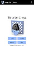 Screenshot of Shredder Chess