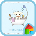 hello popu bath dodol theme icon