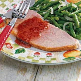 Ham with Currant Sauce