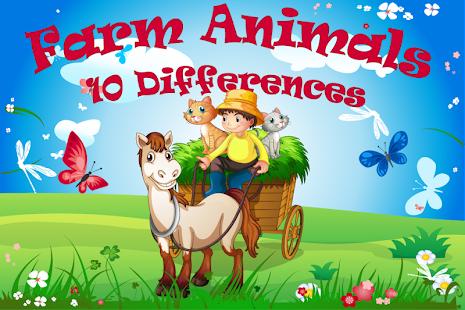 10差异农场动物