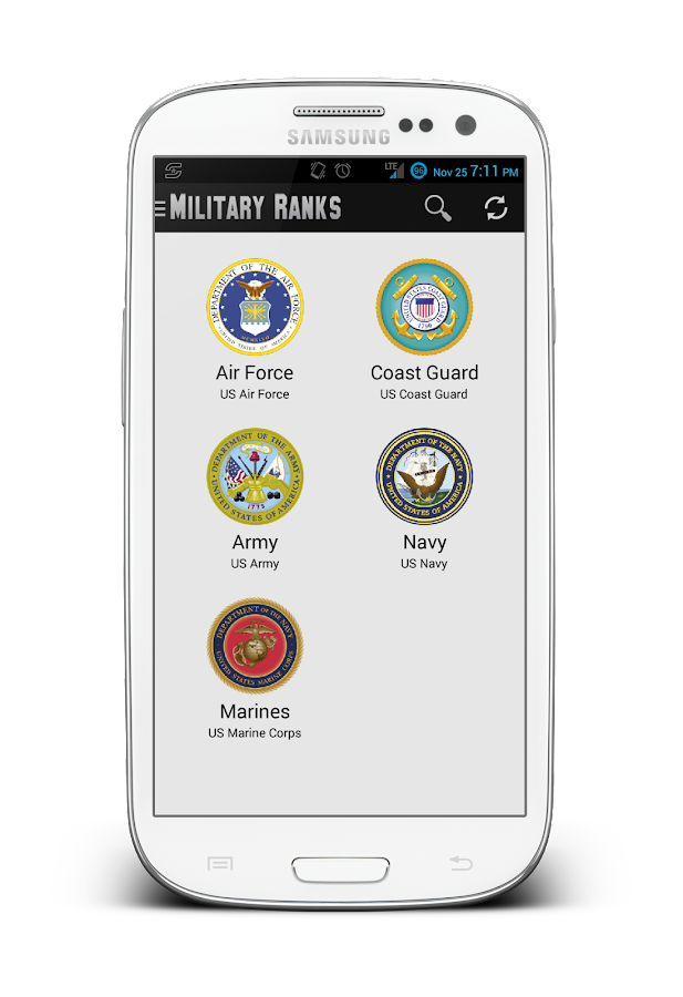 Military Ranks - screenshot