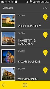 Česká Lípa - audio tour - screenshot thumbnail