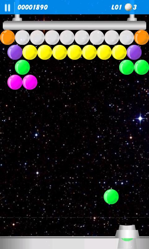 Space Bubbles - screenshot