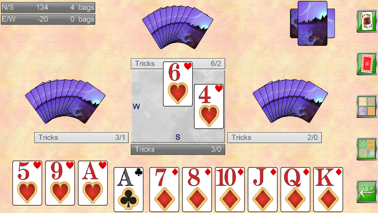 Spades V+ - screenshot