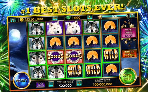 Slots™ Wolf FREE Slot Machines screenshot