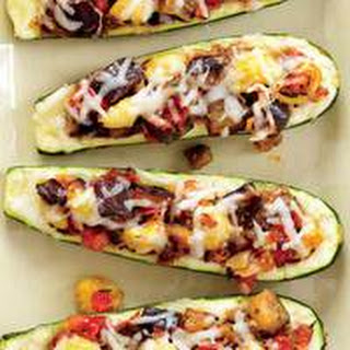 Grilled Ratatouille Boats