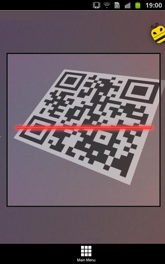 BeeTagg QR Reader- screenshot