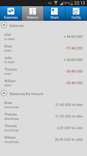 Tricount - Split group bills- screenshot thumbnail
