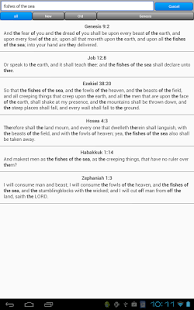 Holy Bible, King James Version- screenshot thumbnail