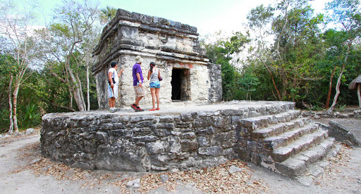 San Gervasio is the most important Mayan archeological site on Cozumel Island.