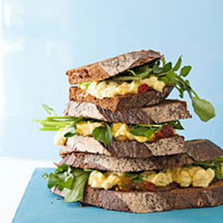Curried Egg Salad Sandwiches.