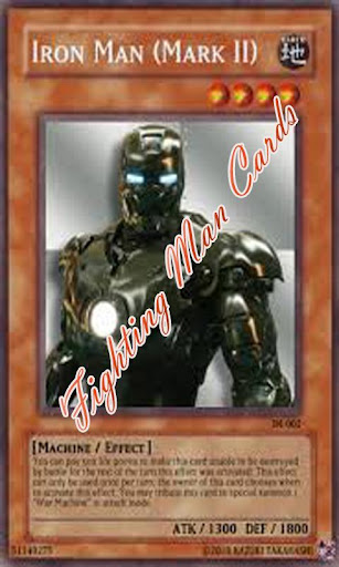 Fighting man cards