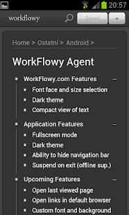 WorkFlowy Agent- screenshot thumbnail