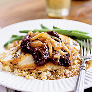 Chicken with Dried Plums and Sage.