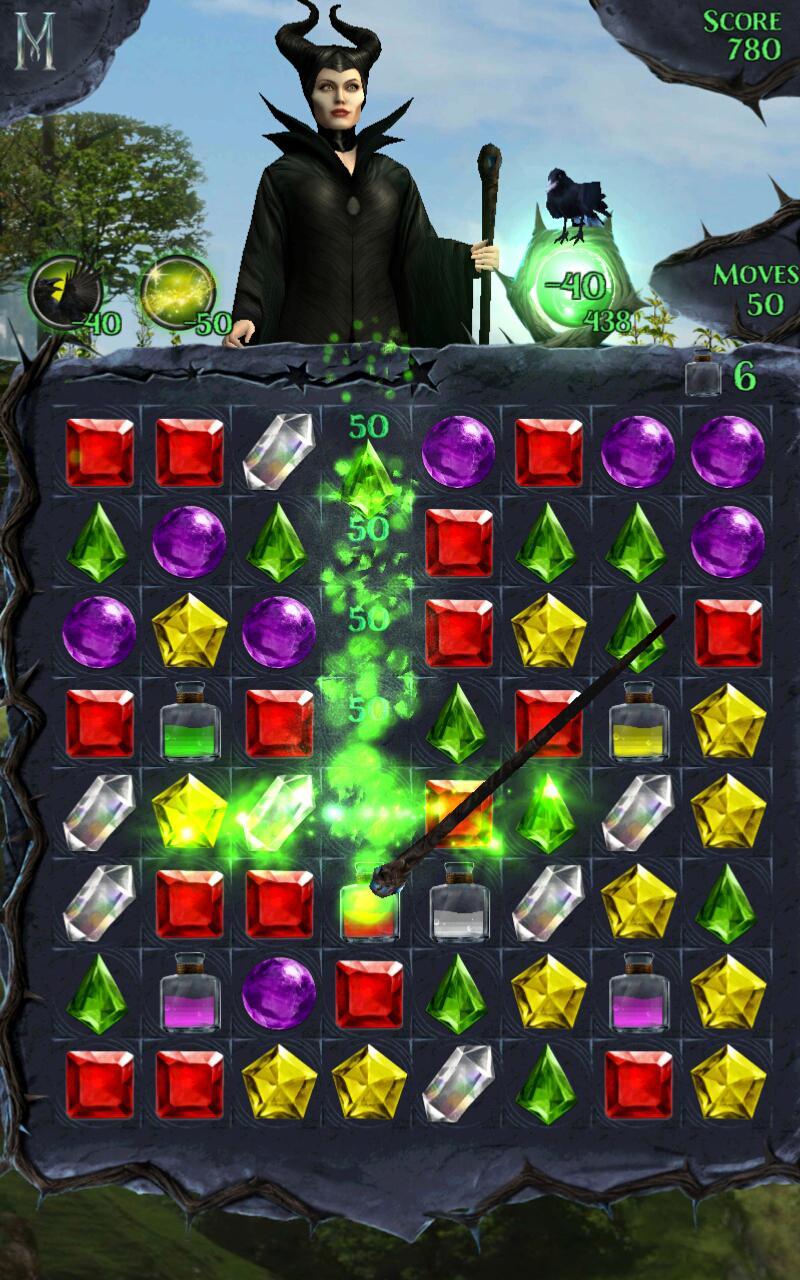 Maleficent Free Fall screenshot #7