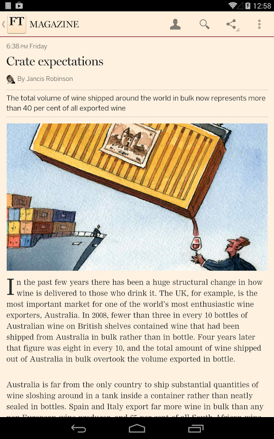 Financial Times - screenshot
