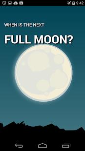 Next Full Moon screenshot