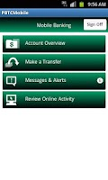 Screenshot of Planters Bank Mobile
