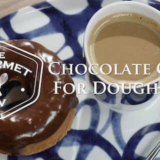 Chocolate Doughnut Glaze