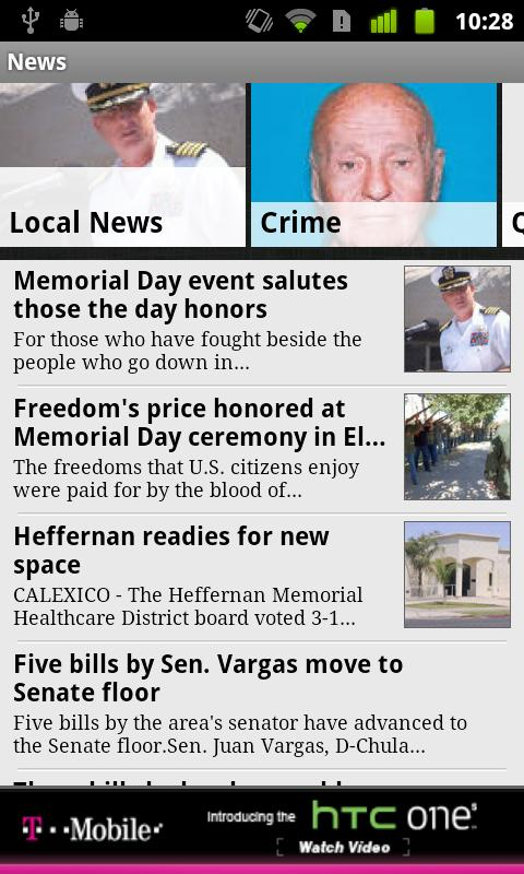 Imperial Valley Press News - screenshot