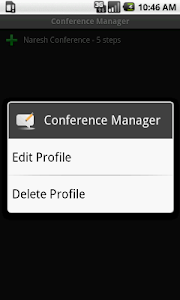 Conference Manager (FREE) screenshot 1