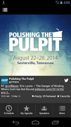 Polishing the Pulpit 2014