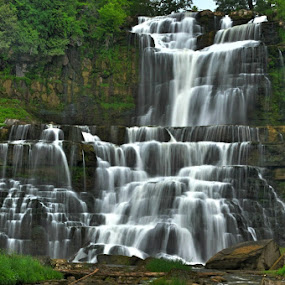 Waterfalls by Steve Friedman - Landscapes Waterscapes ( waterfalls, hdr, river,  )