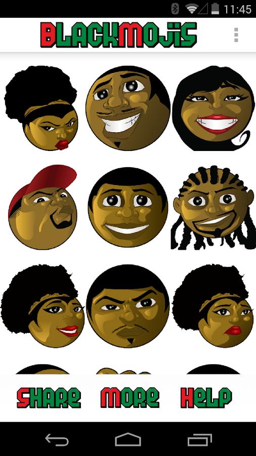 Blackmojis™ - Black Emojis v2.0 [Apk] [Paid] [Cost=105PKR] FmfTG5T0_mqw07BH71r07A_kWzVn3XAFcJsxWfLLk26QqgL0RB6i0fYmQwQUfpXyFIRQ=h900