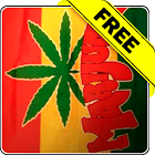 Marijuana flag free lwp icon
